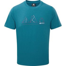 Mountain Equipment Triple Peak - T-shirt manches courtes Homme - bleu